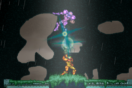 Don't go into the light, Samus!