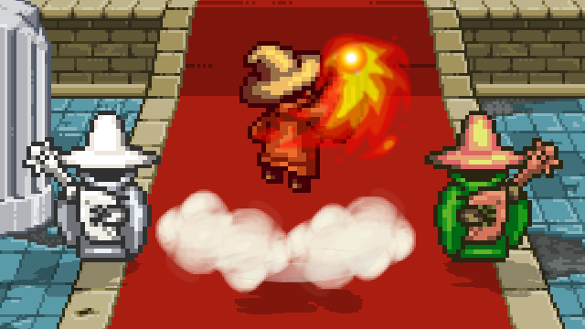 Orange Black Mage because it feels awesome to do fire based moves, and orange is my favorite color lol. <i>Zero Insanity, Sprite Department</i>