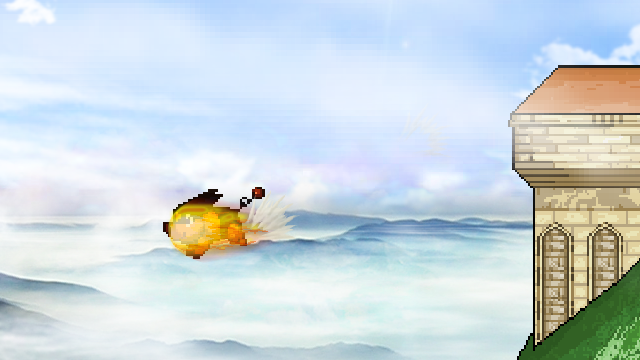 It's just a little airborne, it's still good, it's still good!